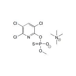 Chlorpyrifos-methyl-desmethyl TMA salt