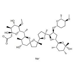 Semduramicin sodium