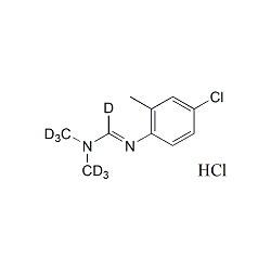 D7-Chlordimeform hydrochloride